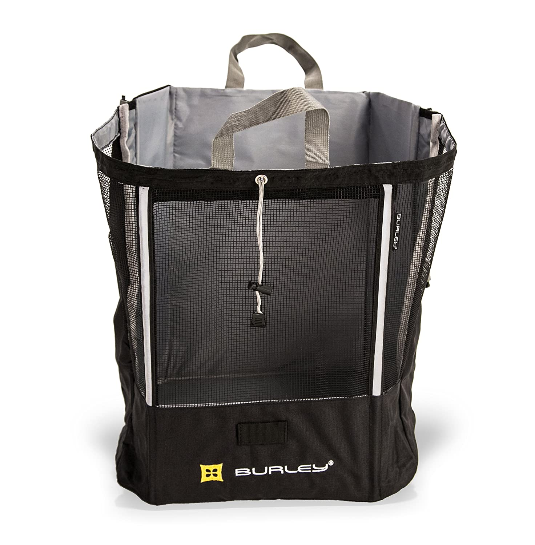 Burley Design Shopping Bag for Burley Travoy Trailer, (Black)