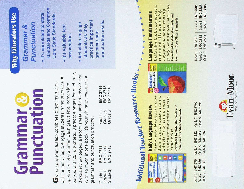 Workbooks grammar and punctuation workbook : Amazon.com: Grammar and Punctuation, Grade 2 (0023472027122): Evan ...