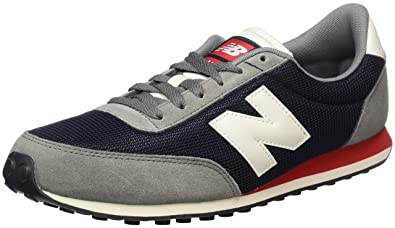 New Balance Running Classics, Unisex Adults Low-Top Sneakers, Multicolor  (Grey/