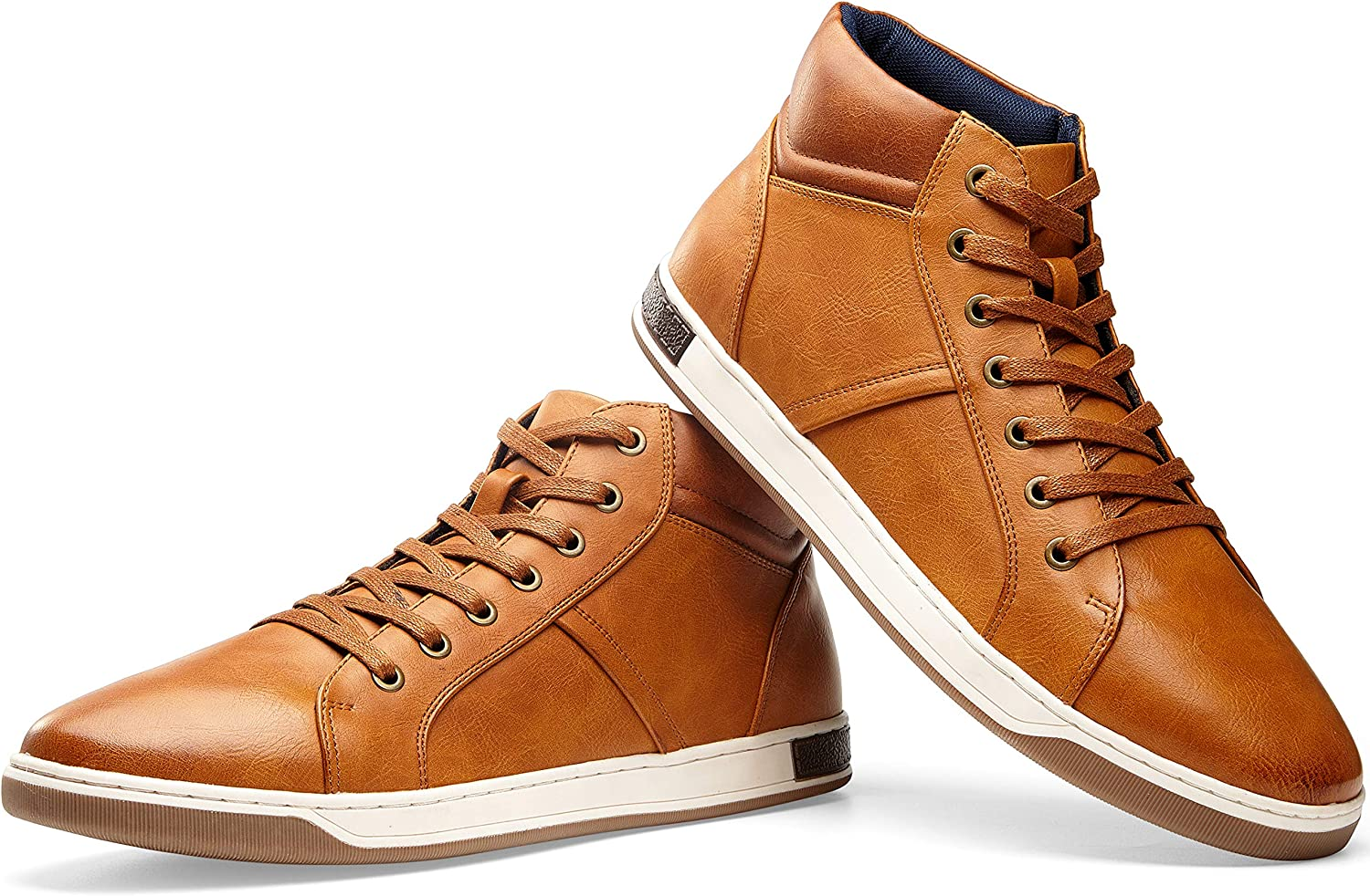 | JOUSEN Men's Casual Shoes High Top Fashion Sneaker Lightweight Men Boots Shoes | Fashion Sneakers