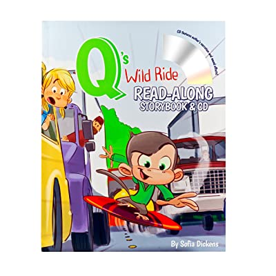 Q's Wild Ride Read-Along Storybook & CD: Brandon Jeffords, Sofia Dickens: Toys & Games