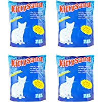 Cat Litter Crystal Kitty Sand Plain, 7.6 L - Pack Of 4