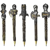 Design Toscano CL993664 Knights of the Realm: Battle Armor Pen C..., Set of 5,Full Color