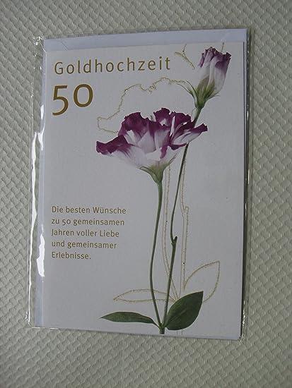 Bodas de Oro 50 Bodas de Oro tarjeta de felicitación tarjeta de ...