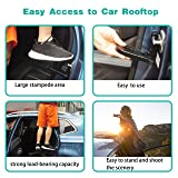 Upgraded Car Doorstep Vehicle Folding Ladder U
