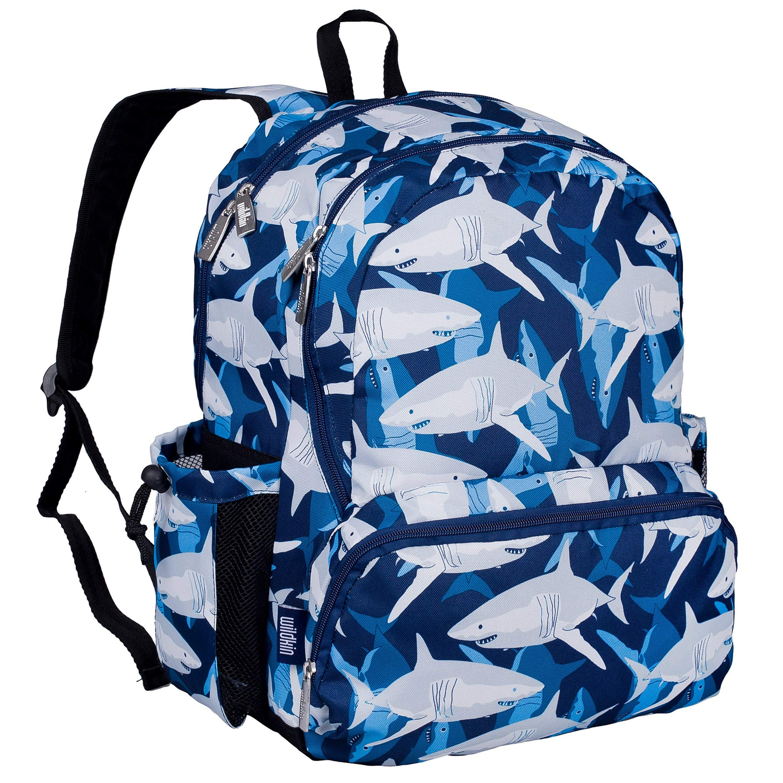 Wildkin Kids 17 Inch Backpack for Boys and Girls, Perfect Size for Middle, Junior High, and High School, Patterns Coordinate with Our Lunch Boxes and Duffel Bags by Wildkin