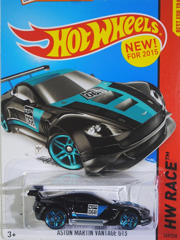 Hot Wheels 2015 Hw Race Aston Martin Vantage Gt3 149 Lamborghini Estoque 250 Black Toys Games