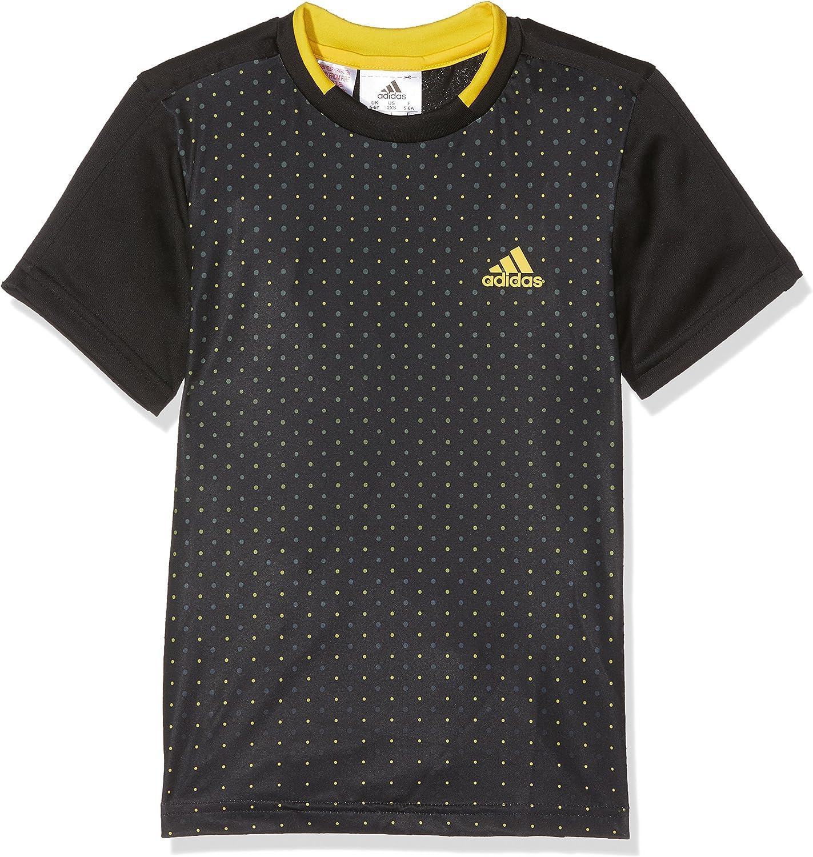 adidas ADV Ni/ños tee Camiseta de Tenis TR
