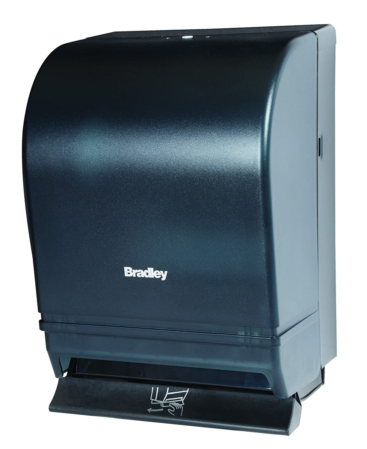 Bradley 2497-000000 Roll Towel Dispenser, Lever Operated, Surface Mounted