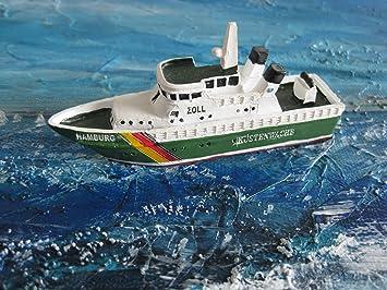 12 cm Schiffsmodell MS Hamburg Miniatur Boot Schiff ca