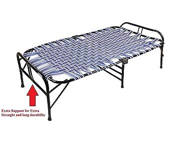 IRA Single Size Folding Bed (Black)