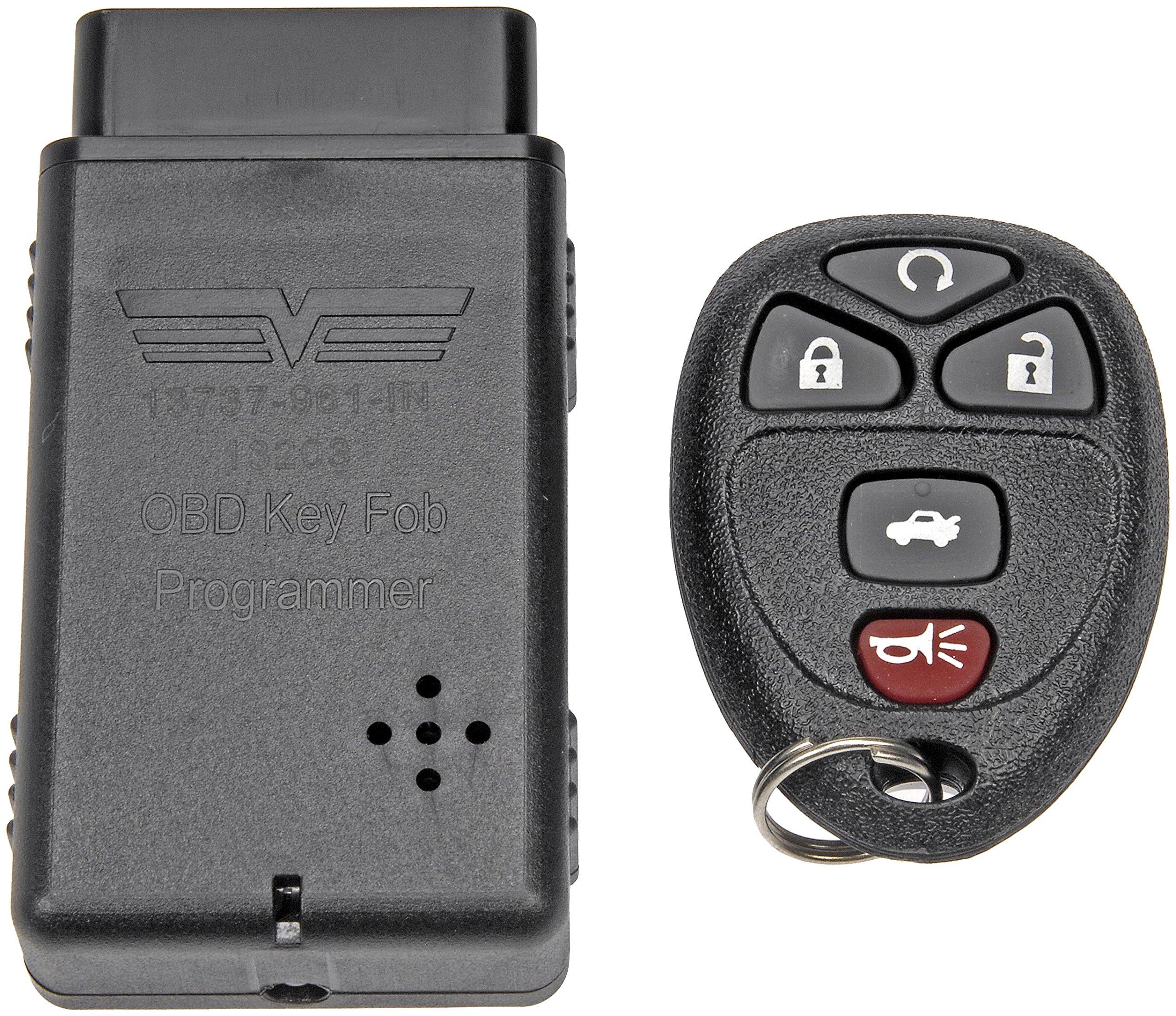 Black OE FIX Dorman 13732 Keyless Entry Transmitter for Select Models