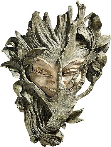 Design Toscano CL5369 Bashful Wood Sprite Tree Face Mystic Decor Wall Sculpture