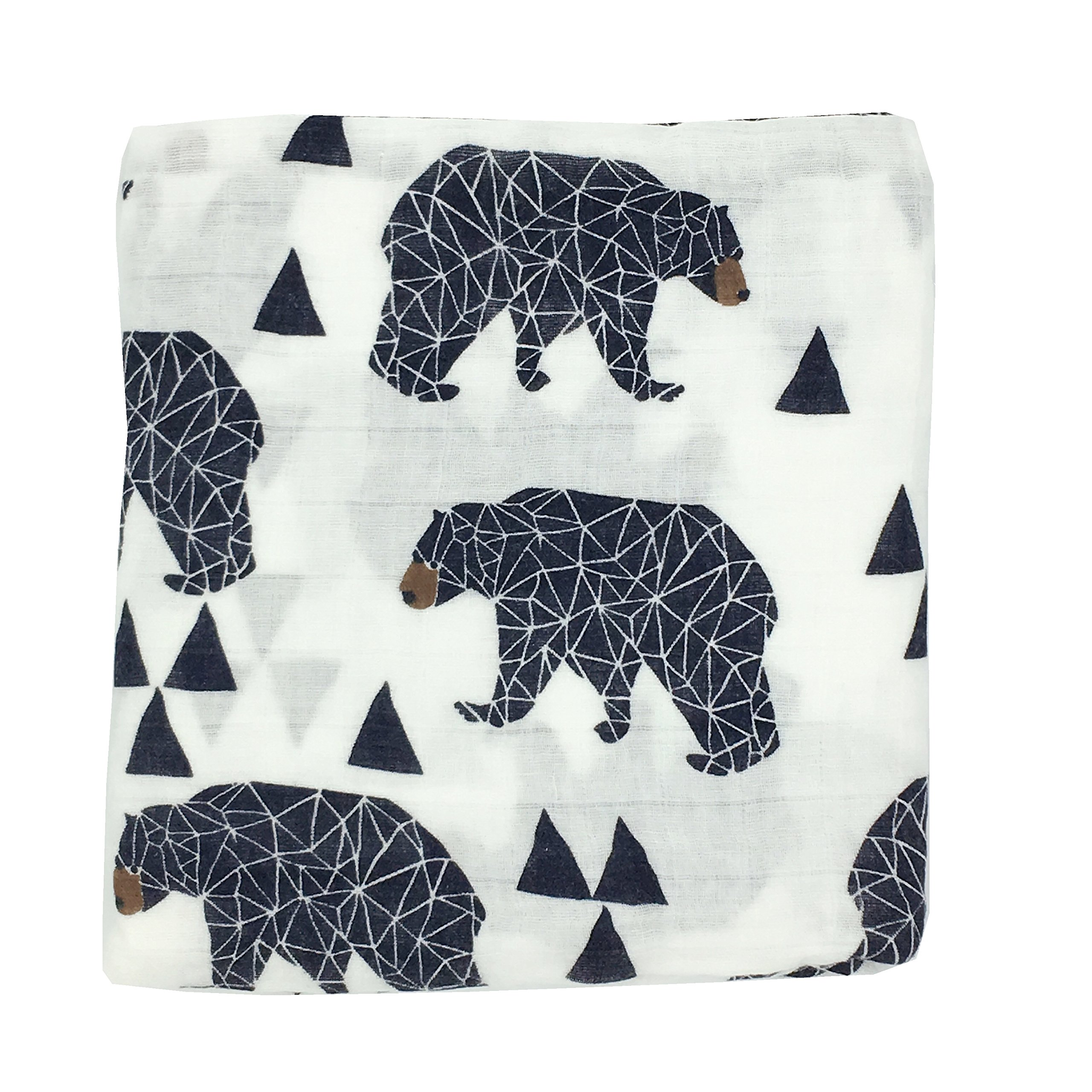 Amazon Com Dear Baby Gear Deluxe Reversible Baby Blankets