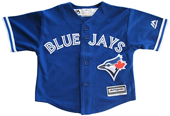 dc62014a4 Toronto Blue Jays Baby Replica Cool Base Alternate Jersey - Size 24 ...