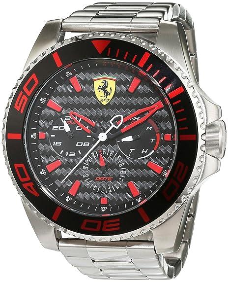 Ferrari 0830311 XX Kers - Reloj analógico de pulsera para hombre (cuarzo, correa de