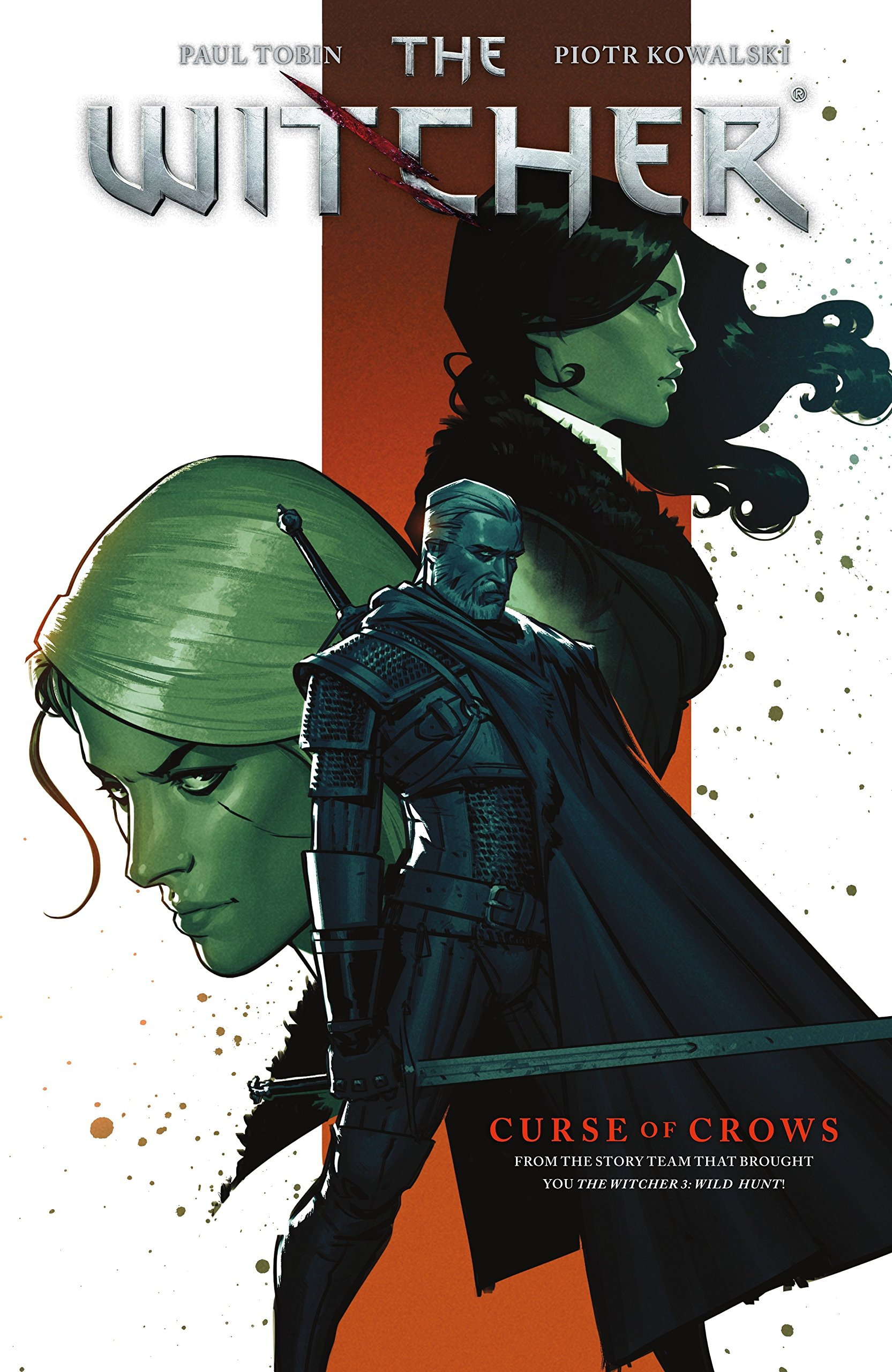 The witcher volume 3 curse of crows paul tobin piotr kowalski the witcher volume 3 curse of crows paul tobin piotr kowalski nick filardi 9781506701615 amazon books solutioingenieria Image collections
