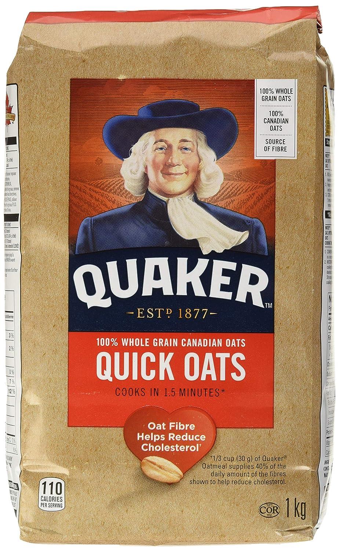 QUAKER Quick Oats, 1 Kilograma: Amazon.com: Grocery ...