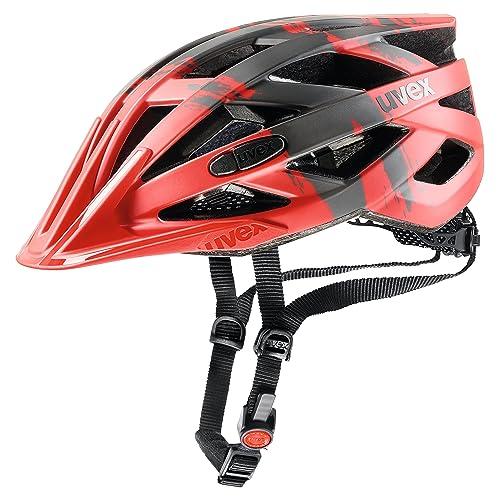 Uvex I-Vo CC Casco de Ciclismo, Unisex Adulto, Rojo, 56-