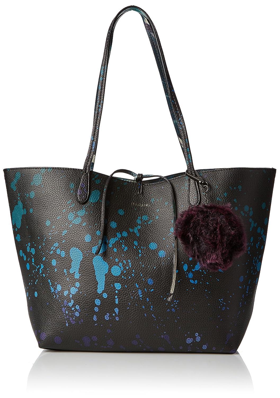 Bols_pi?acolada Capri Womens Shoulder Bag Blue (Navy) 28x13x30 cm (B x H x T) Desigual by0XY4DIQ
