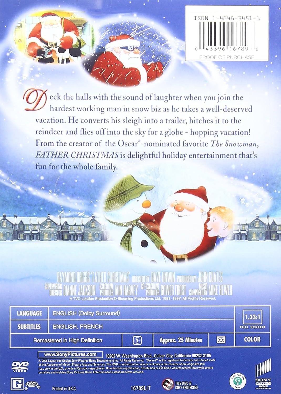 Amazon.com: Father Christmas: Dave Unwin, Raymond Briggs: Movies & TV