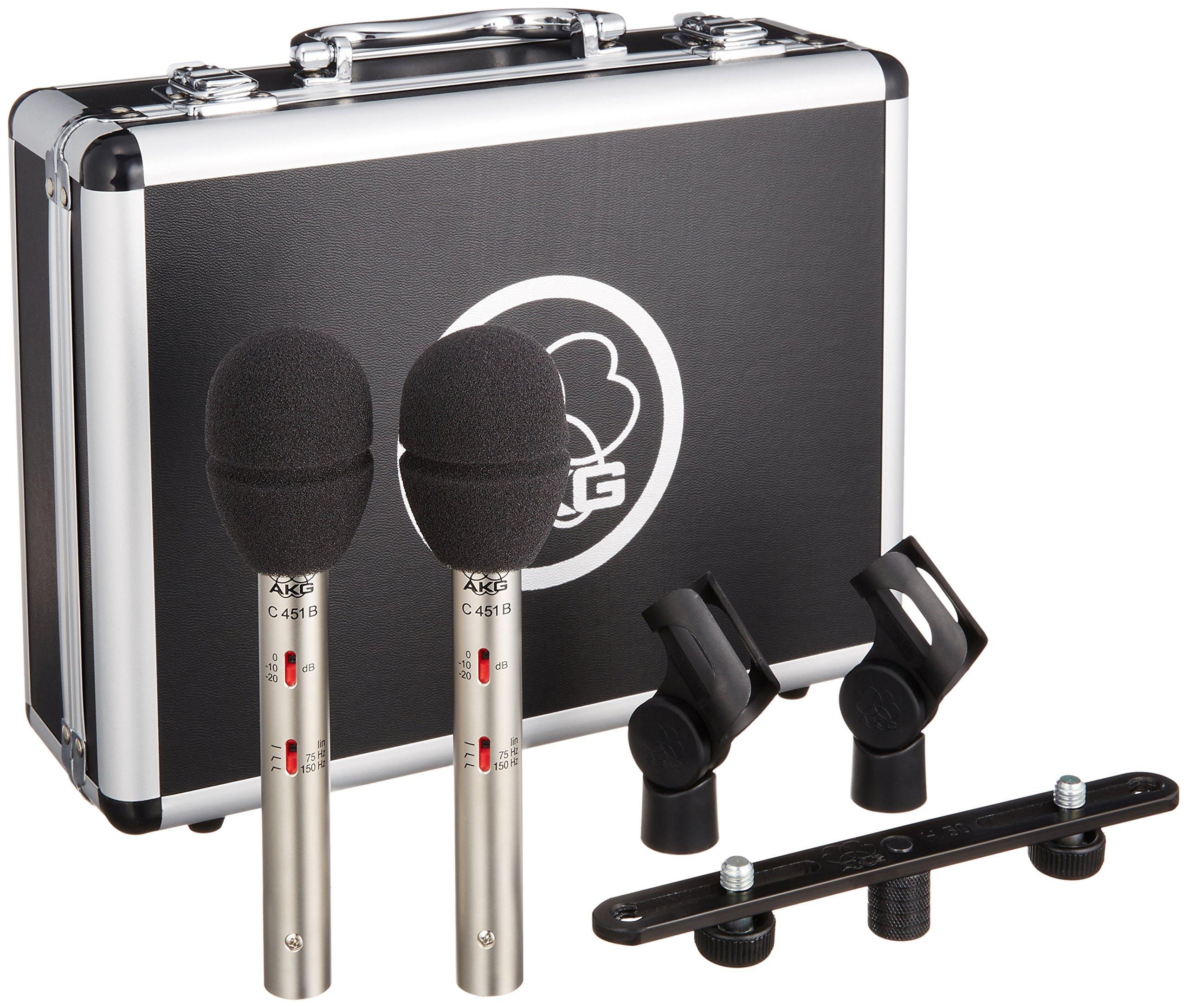 AKG C 451 B Stereo Pair by AKG