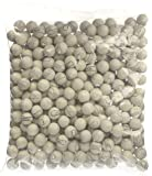 Gumballs By The Pound - 2 Pound Bag of White Baseballs