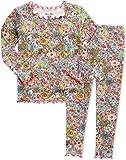 Vaenait baby Kids Girls Boys Soft Comfy Modal Shirring Sleepwear Pajamas for X-Mas