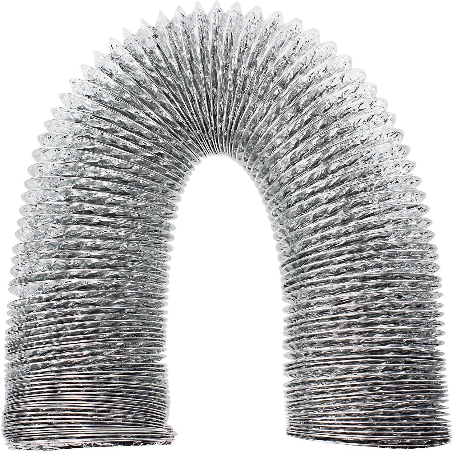 Spares2go 3m aluminio Flexible manguera de ventilación tubo de escape para Electrolux secadora (4