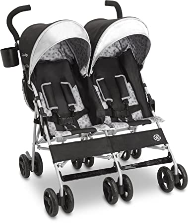 3434e233fd8 Amazon.com : Jeep Scout Double Stroller, Charcoal Galaxy : Baby