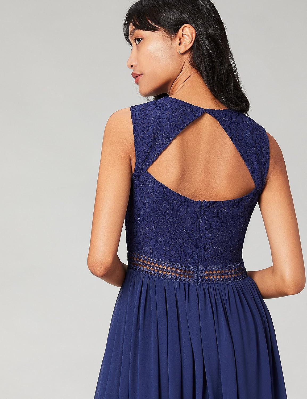TRUTH /& FABLE Damen Midi A-Linien-Kleid aus Spitze Marke