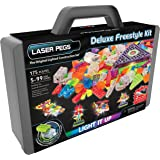 Laser Pegs Deluxe Freestyle Light Up Brick Building Kit 175 PiecesNEW 2016 Lego Compatible