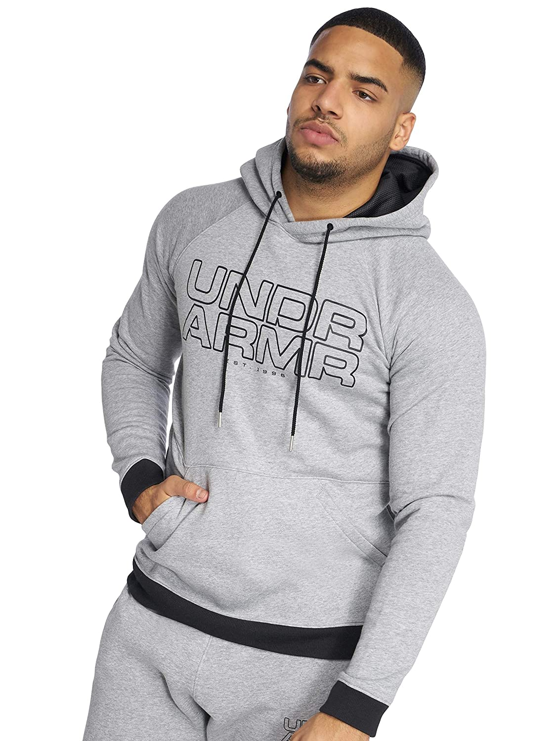 Under Armour Herren Baseline Fleece P/O Hoody Oberteil