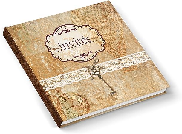 Anniversario Matrimonio Francese.Libro Degli Ospiti Livre D Or Libro Invites Matrimonio Libro