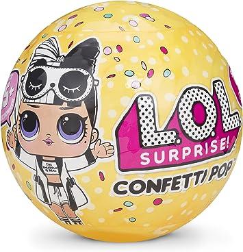 Amazon.es: L.O.L. Surprise! Muñecas, muñecas coleccionables Que Vienen en Huevos Sorpresa con Confeti, Serie 3: Juguetes y juegos