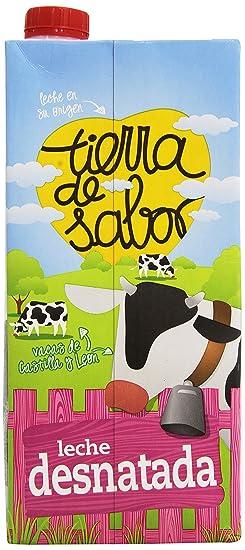 Tierra de sabor - Leche UHT Desnatada - 1 L