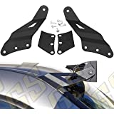 """GS Power's 1999 - 2006 Chevy Silverado / GMC Sierra Curved 50"""" LED Light Bar Brackets. Also Fit GM SUV: Chevrolet Suburban Tahoe Yukon. Mount Off Road Work Lights at Roof Windshield"""