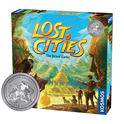 Lost Cities - The Board Game: Toys & Games