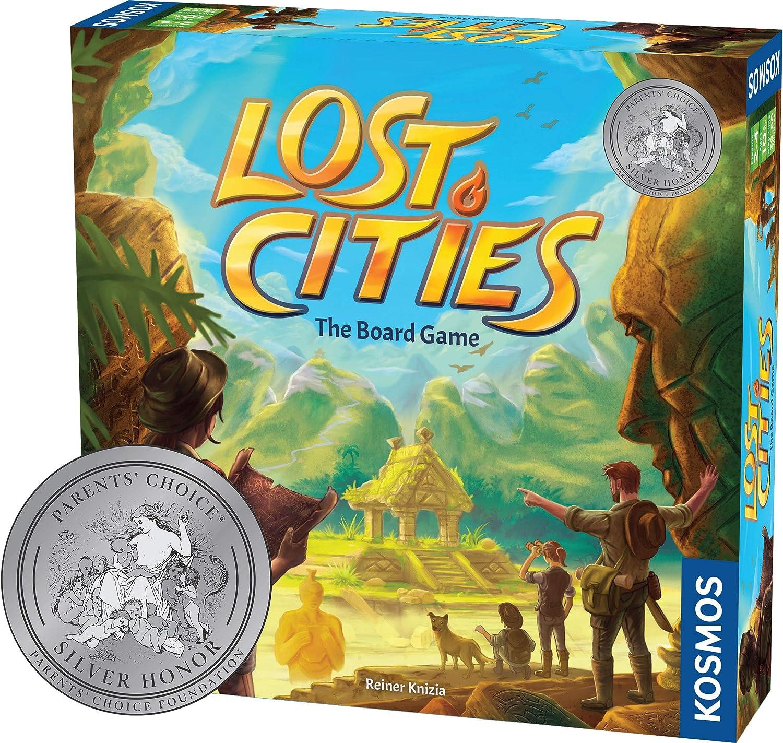 Thames & Kosmos Lost Cities: The Board Game: Thames & Kosmos: Amazon.es: Juguetes y juegos