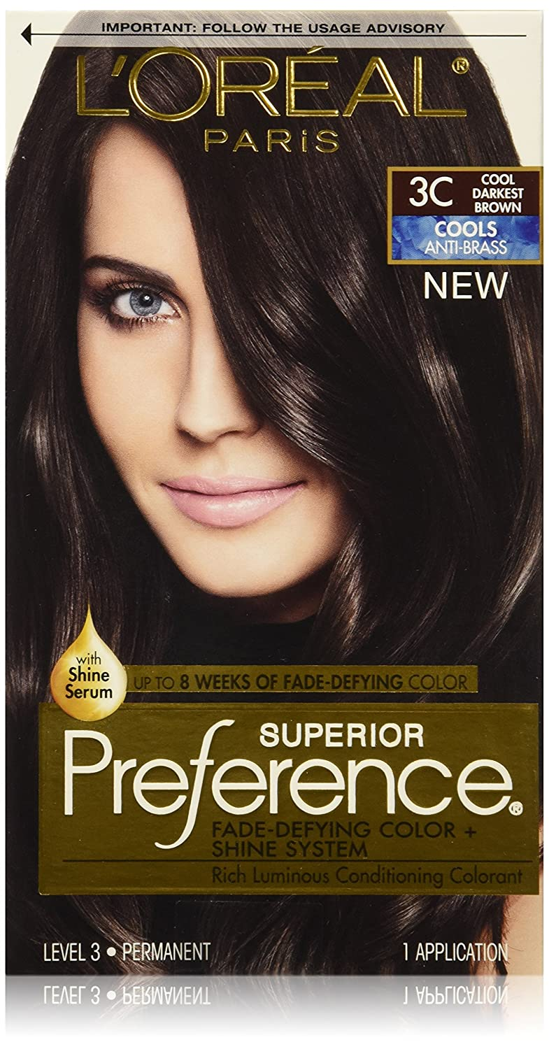 Loreal hair color quiz - Buy L Oreal Paris Hair Color Preference Cools Dye Darkest Brown 3c Online At Low Prices In India Amazon In