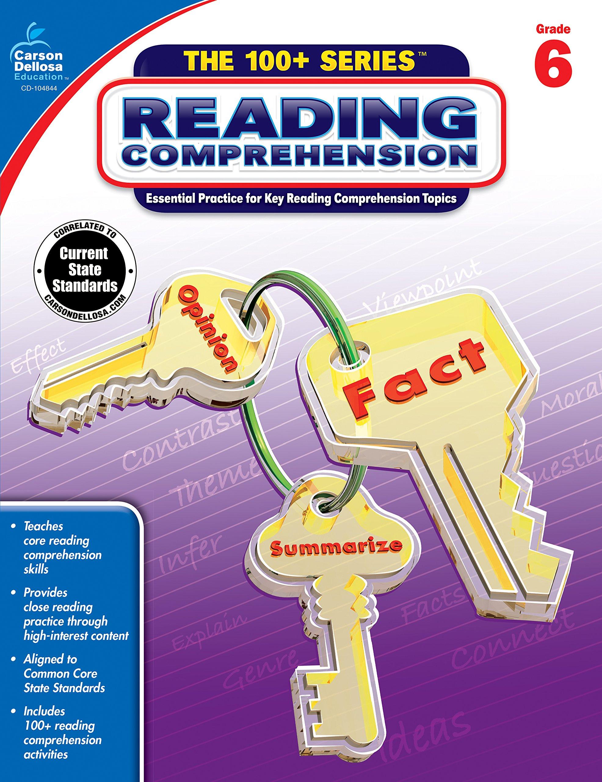 - Amazon.com: Reading Comprehension, Grade 6 (The 100+ Series