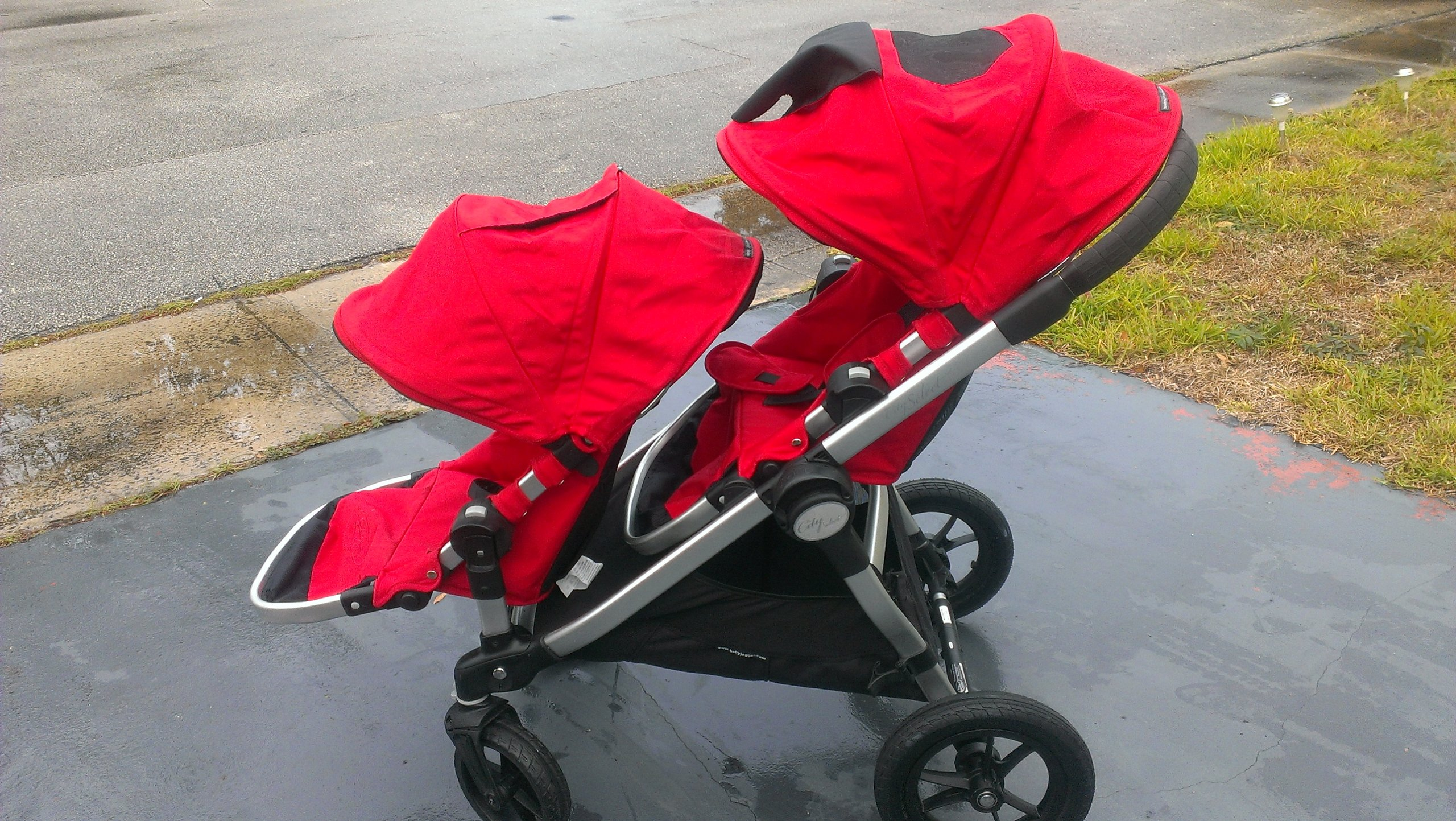 Baby Jogger City Select Stroller with 2nd Seat Ruby by Baby Jogger