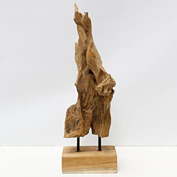 Designer Holzmobel Skulptur Dekoration - Wohndesign -