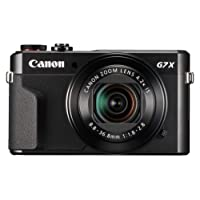Canon PowerShot G7 X Mark II Digital Camera, Black