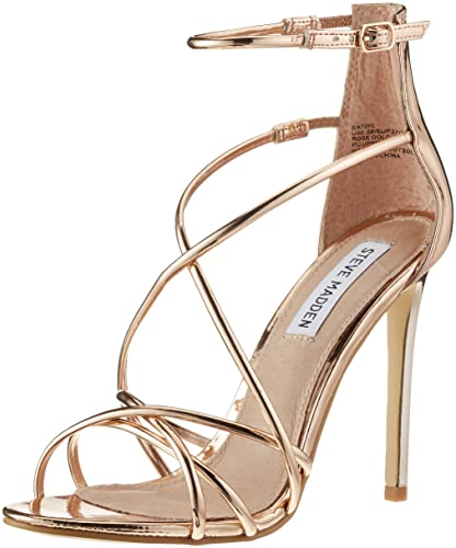 Women's Toe Satire Steve Madden Sandalsrose Footwear Open Gold dxCeBroW