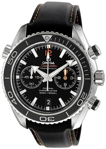 Omega de hombre 232.32.46.51.01.005 Seamaster Planeta Océano Negro Dial reloj: Omega: Amazon.es: Relojes