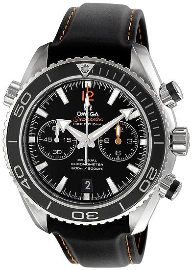 Omega de hombre 232.32.46.51.01.005 Seamaster Planeta Océano Negro Dial reloj