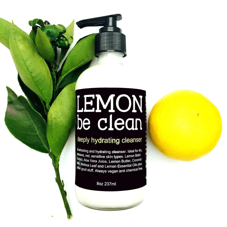Lemon Be Clean Vegan Cream Cleanser