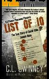 LIST OF 10: The True Story of Serial Killer Joseph Naso (Detectives True Crime Cases Book 7) (English Edition)