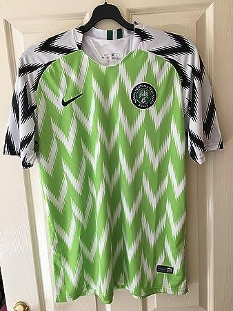 best service 3a895 5c35b FFS Nigeria 2018 World Cup Replica Adult Football Shirt ...